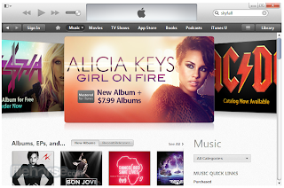 iTunes Screenshoot 1