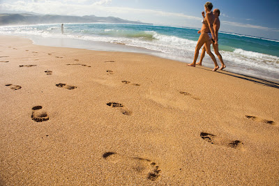 Las Canteras beach is just minutes from the cruise ship dock in Las Palmas.