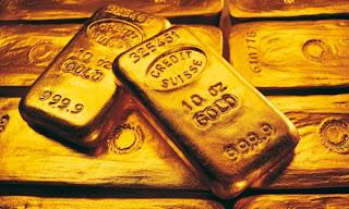 Золото в слитках фото