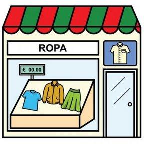 Dibujos de tiendas para imprimir - Tenderos de ropa ...