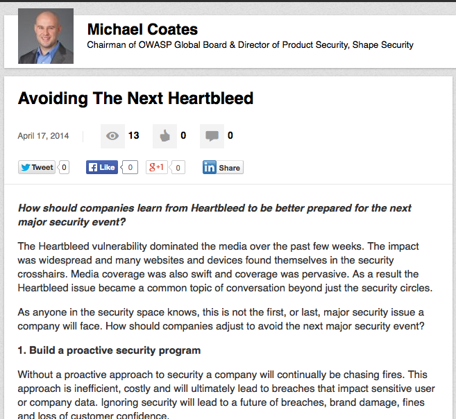 https://www.linkedin.com/today/post/article/20140417203003-8374308-avoiding-the-next-heartbleed