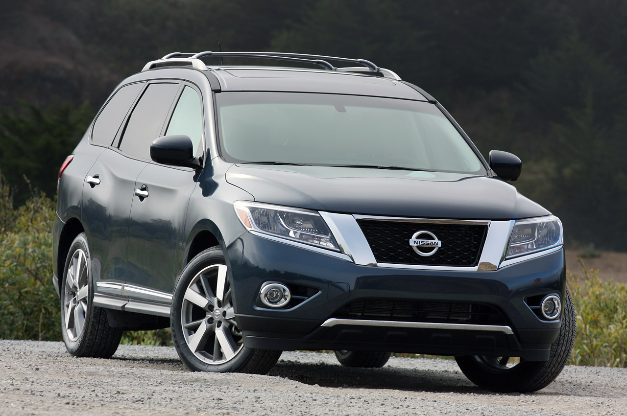 Latest Cars Models  2013 Nissan pathfinder