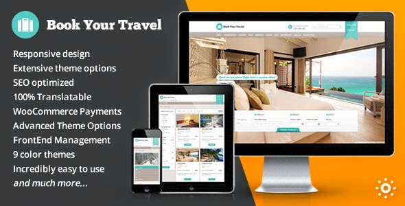 Book Your Travel Online Booking WordPress Theme Free [Current Version 6.11]