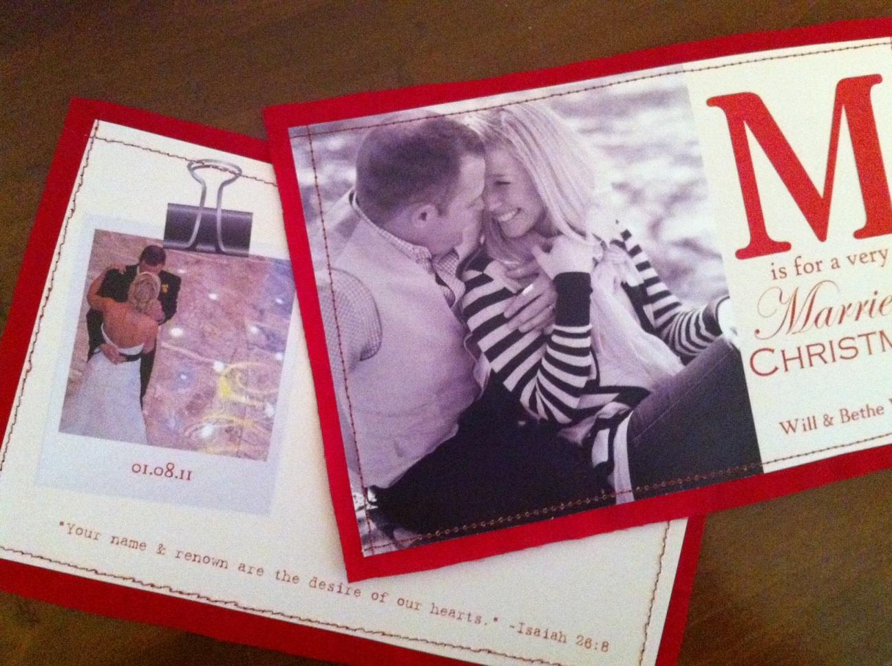 Hand-sewn Christmas Cards – Texas Lovely