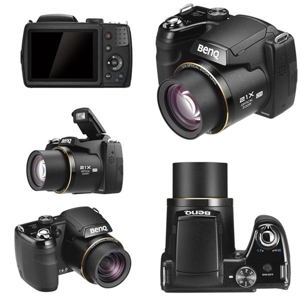 BenQ GH600, prosumer camera, zoom lens, digital camera