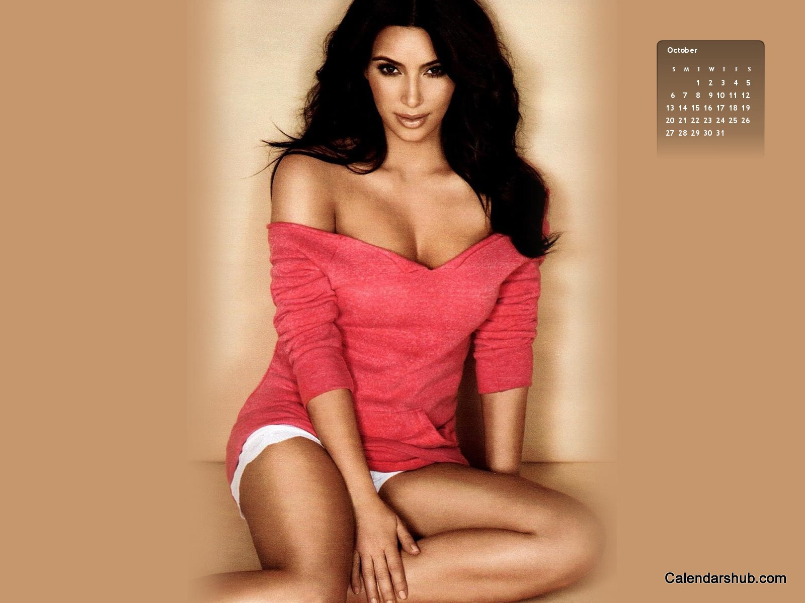 Calendarshub.com presents Kim Kardashian Calendar 2013 - Download Now!