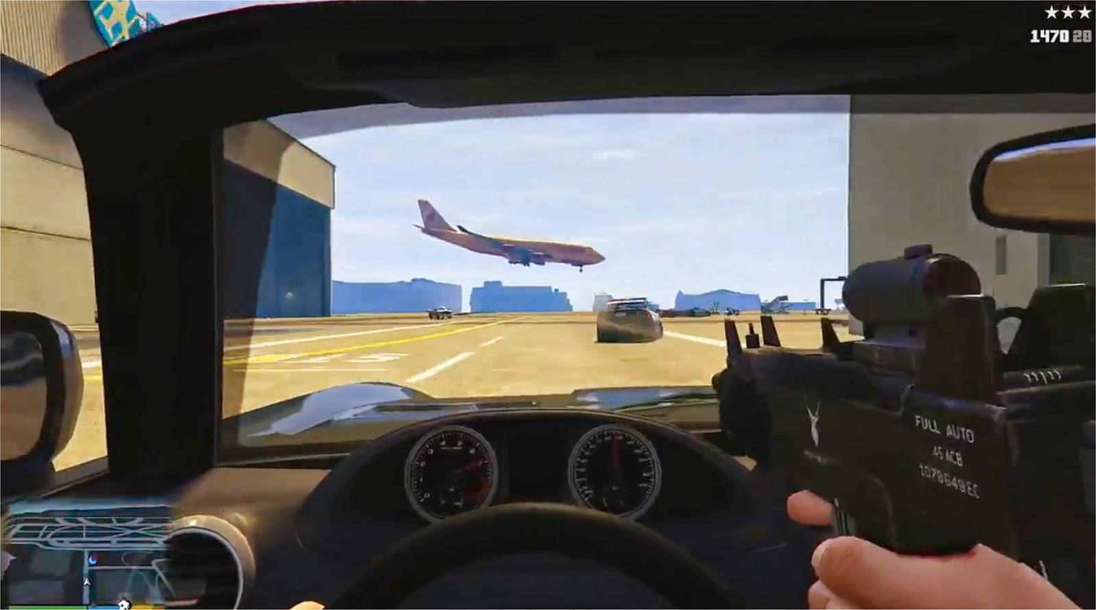 GTA 5 Drive-By