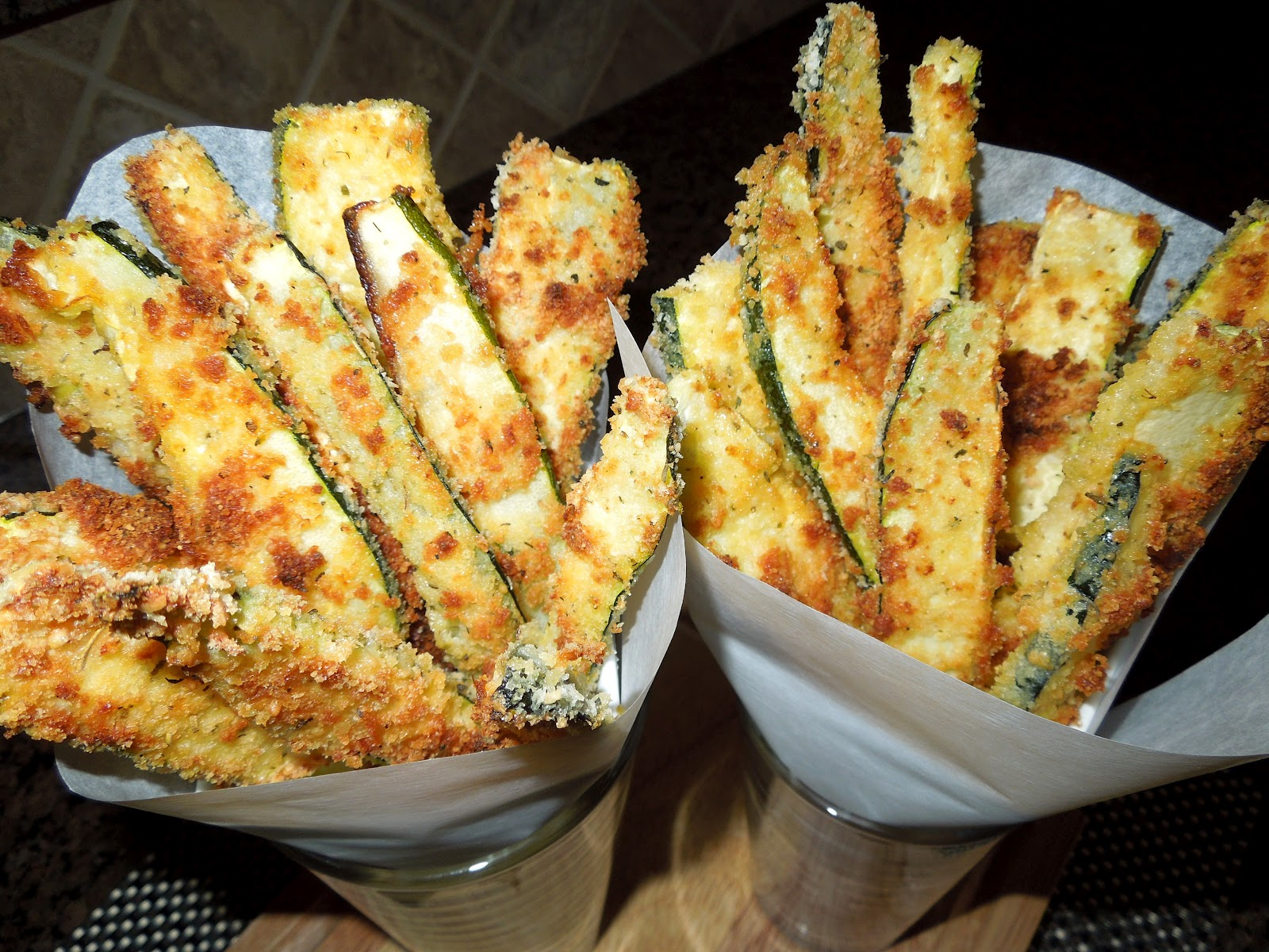 Recipes: Panko-Parmesan Crusted Zucchini Fries