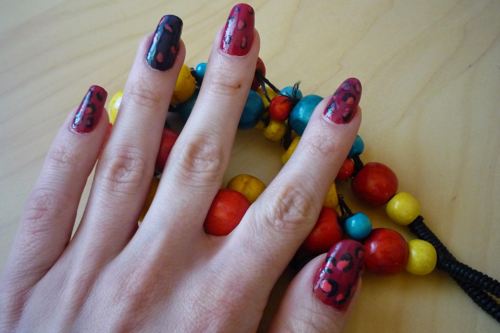 drapieżne paznokcie