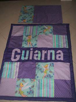 Tinkerbell Quilt with matching pillow case