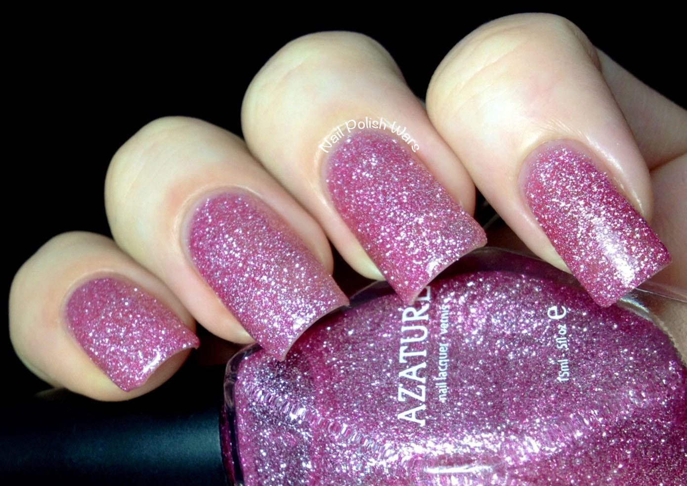 Nail Polish Wars: Azature Diamond Polish Swatch & Review