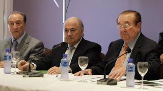 Conmebol se reúne en Paraguay con Joseph Blatter