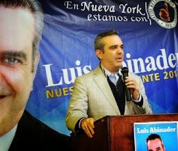 Definen a Luis Abinader como la carta  de triunfo de la oposición en el 2016