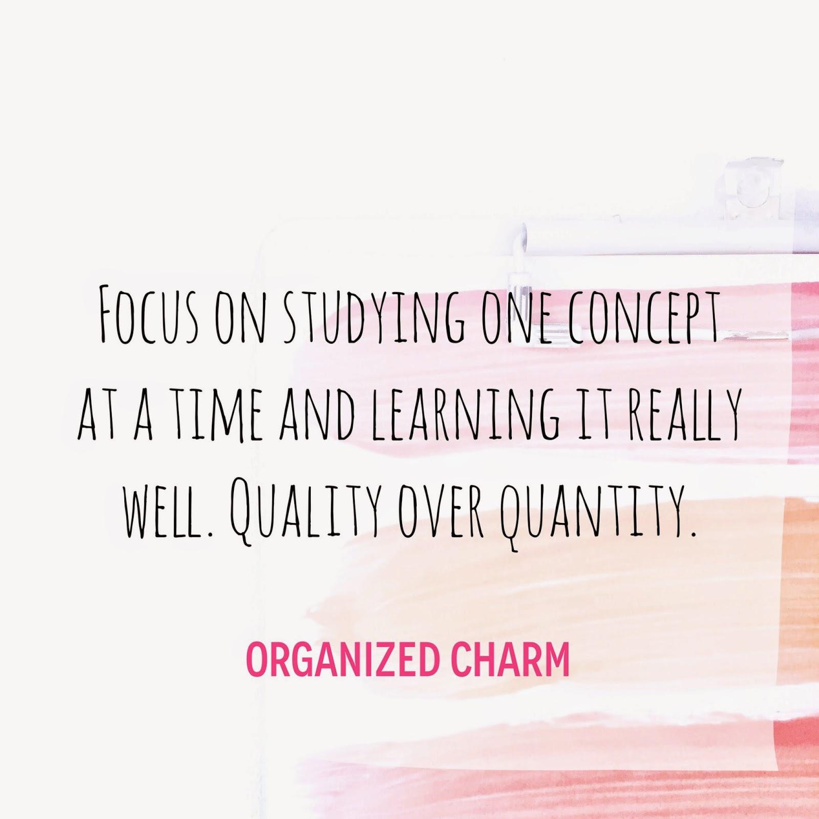 how to focus on study quora