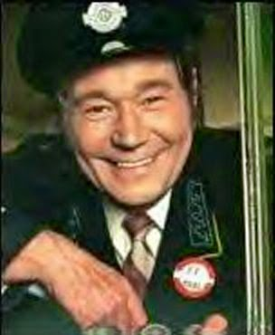 """ before returning to the UK for another ""On The Buses"" TVseries"
