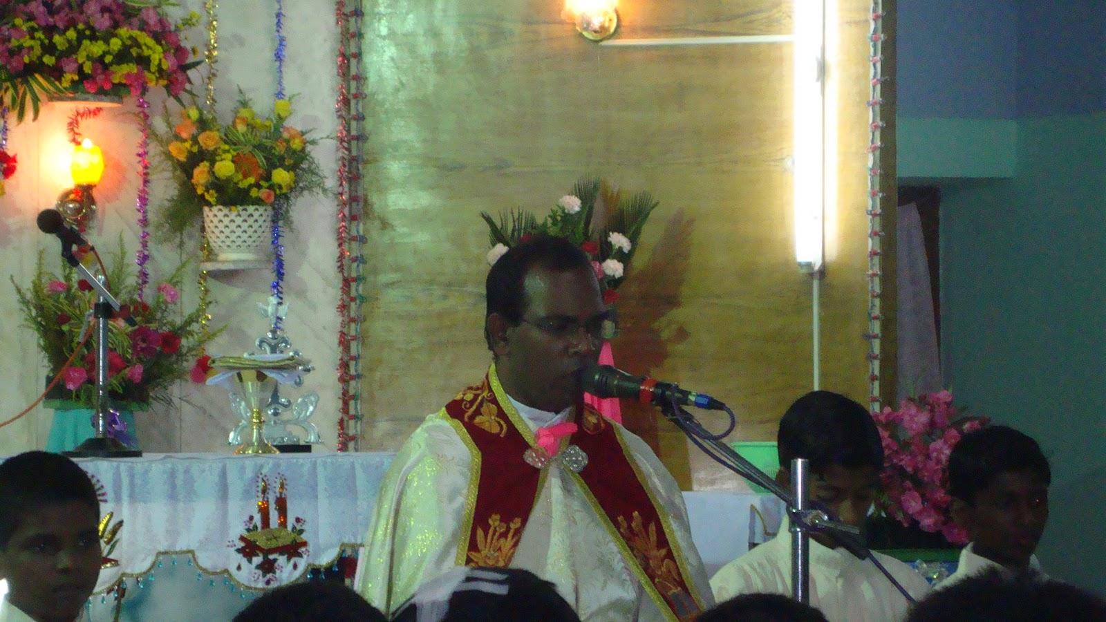 Little Flower Church Pilankalai Eighth Day Mass