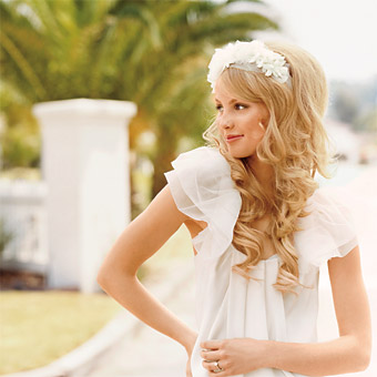 wedding hairstyle, wedding hair