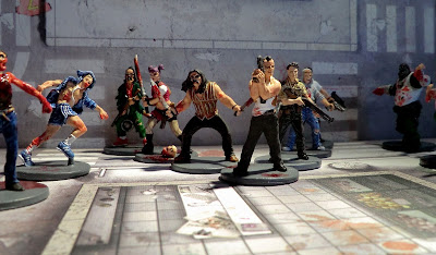 Zombicide Survivor Zombie action painted