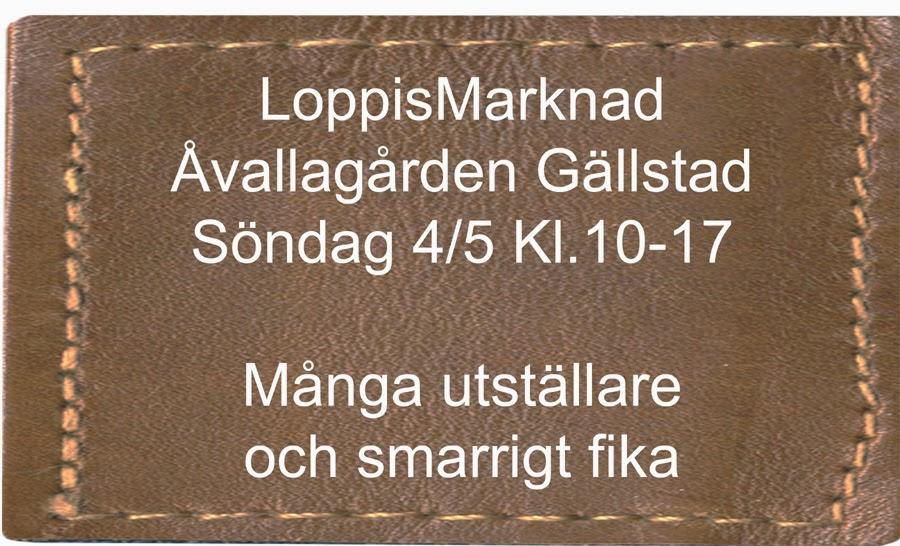 Nästa LoppisMarknad 5 oktober