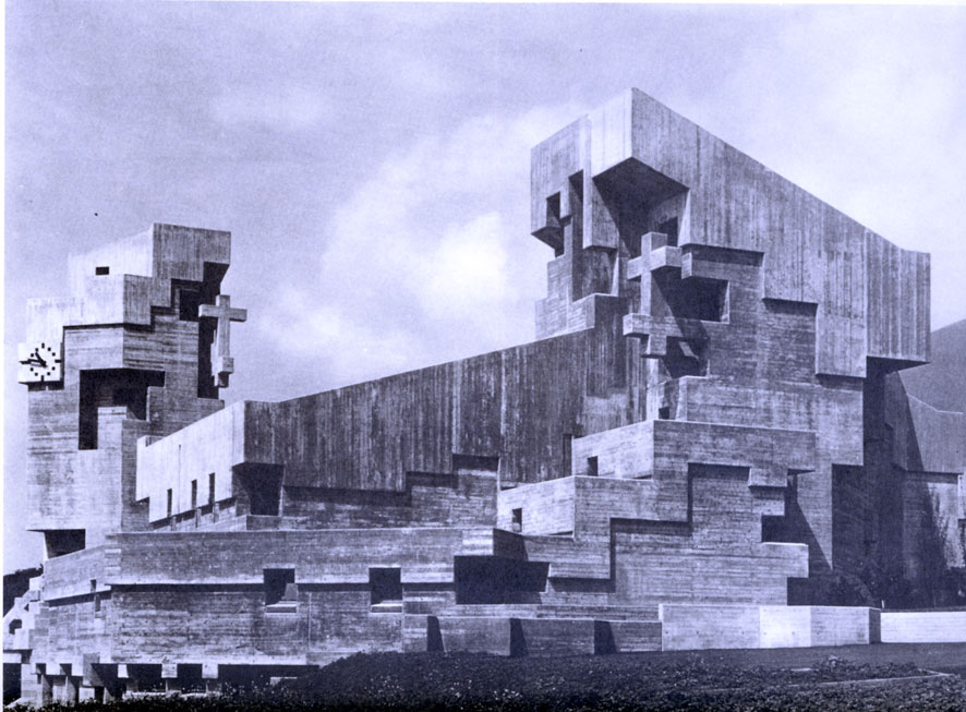 The incredible hulks jonathan meades 39 a z of brutalism for Architecture brutaliste