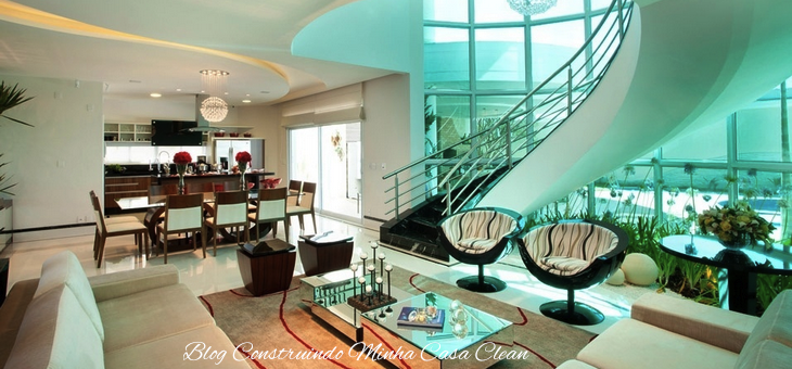 Construindo minha casa clean 30 salas de estar decoradas - Ver casas decoradas por dentro ...