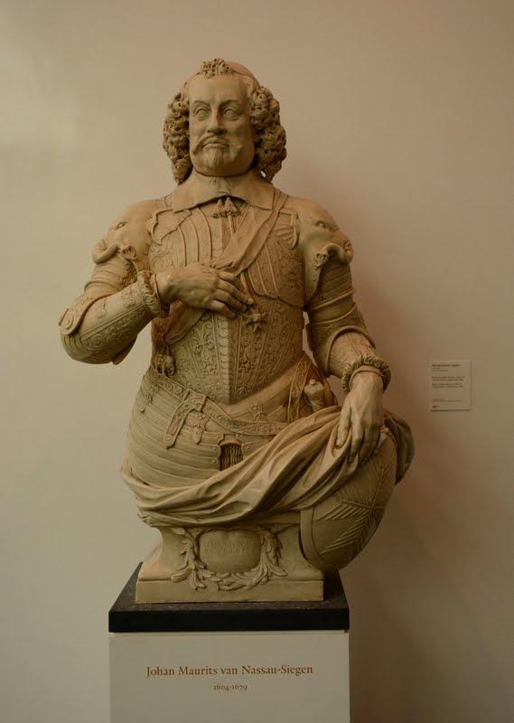 Busto de Maurício de Nassau, Mauritshuis, Den Haag