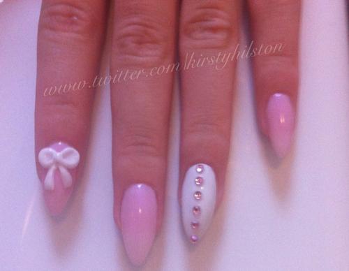 The Charming Purple lips diy nail designs Pics