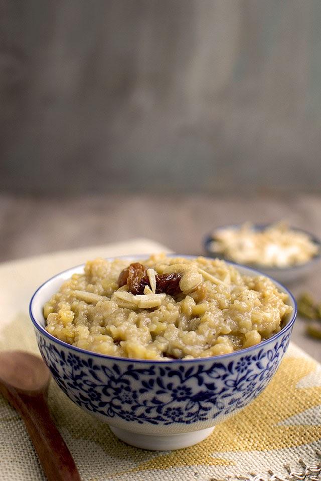 Wheat Rawa Pongali
