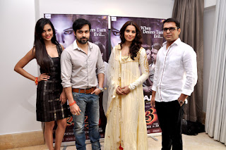 Esha, Emraan & Bipasha @ Raaz 3 - Oscar Jeans press conference