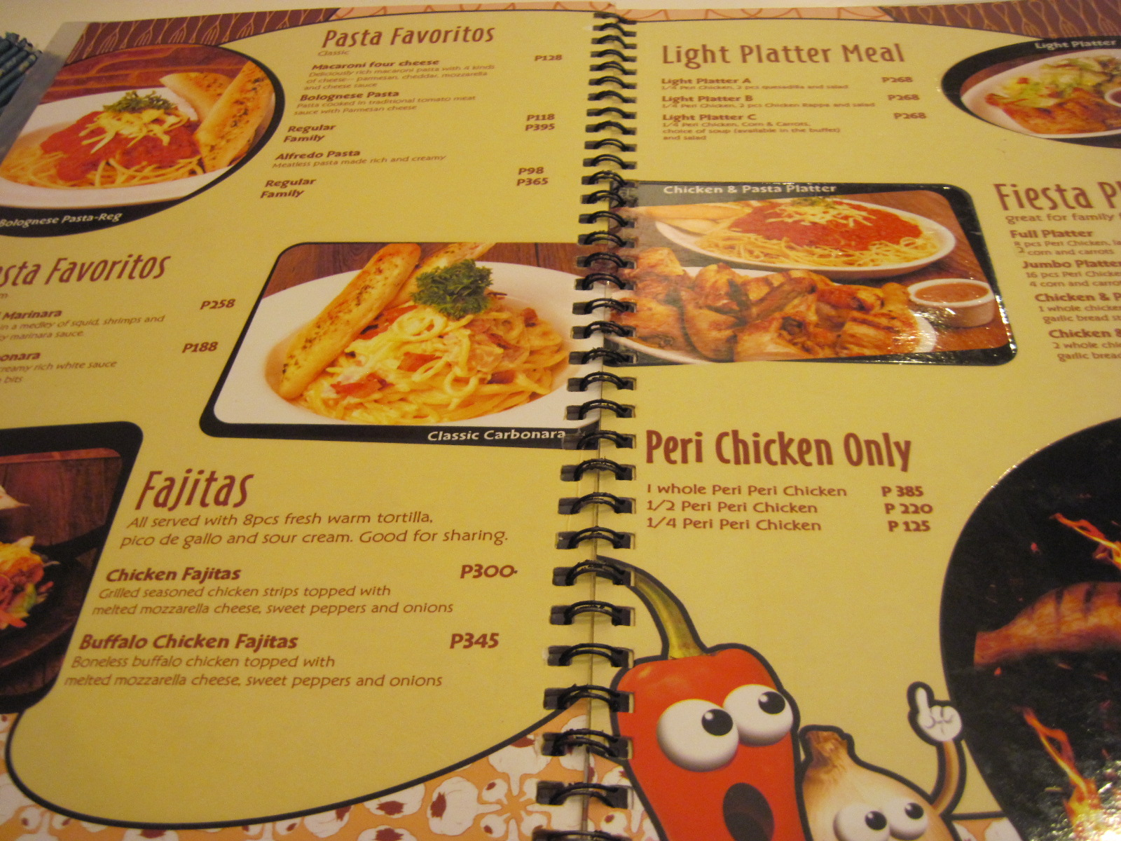 davao food one plate at a time september 2012