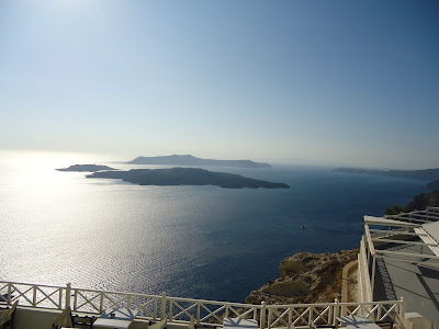 View from Santowines Winery, Santorini
