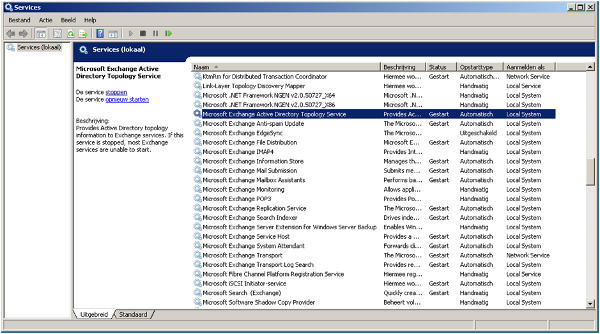 Microsoft Exchange System Attendant Service does not start