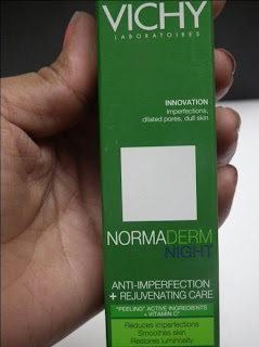 Light Weight, Serum-Like Vichy Normaderm Night (For Sensitive Skin)!!