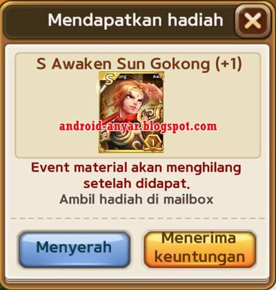 Cara Dapetin Kartu S Awaken Sun Gokong Get Rich