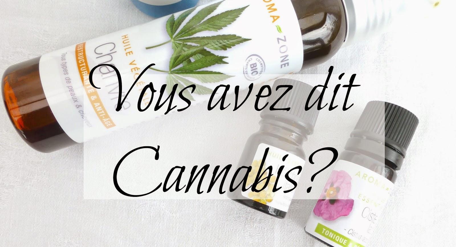 Du cannabis dans ma routine - oui mais du bio quand même!