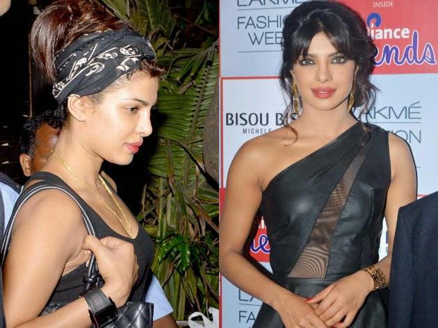 Priyanka chopra without makeup