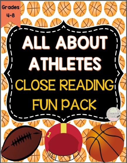 https://www.teacherspayteachers.com/Product/All-About-Athletes-Informational-Text-Close-Reading-Fun-Pack-for-Grades-4-8-1105587