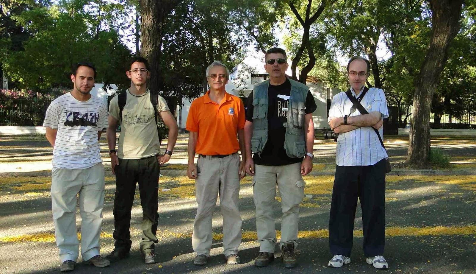 Excursión ornitológica del Grupo Local SEO-Sevilla de SEO/BirdLife a los Puertos de las Palomas y de El Boyar. Grazalema