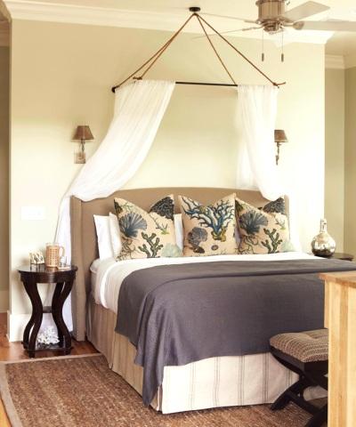 romantic beach bedroom