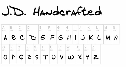 Fun Handwriting Styles