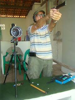 José Augusto dos Reis - Duelo 20 segundos - Tiro Esportivo