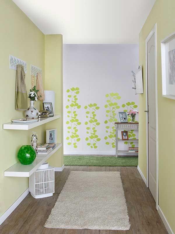 Construindo minha casa clean decora o de corredores for Entrada de un piso feng shui