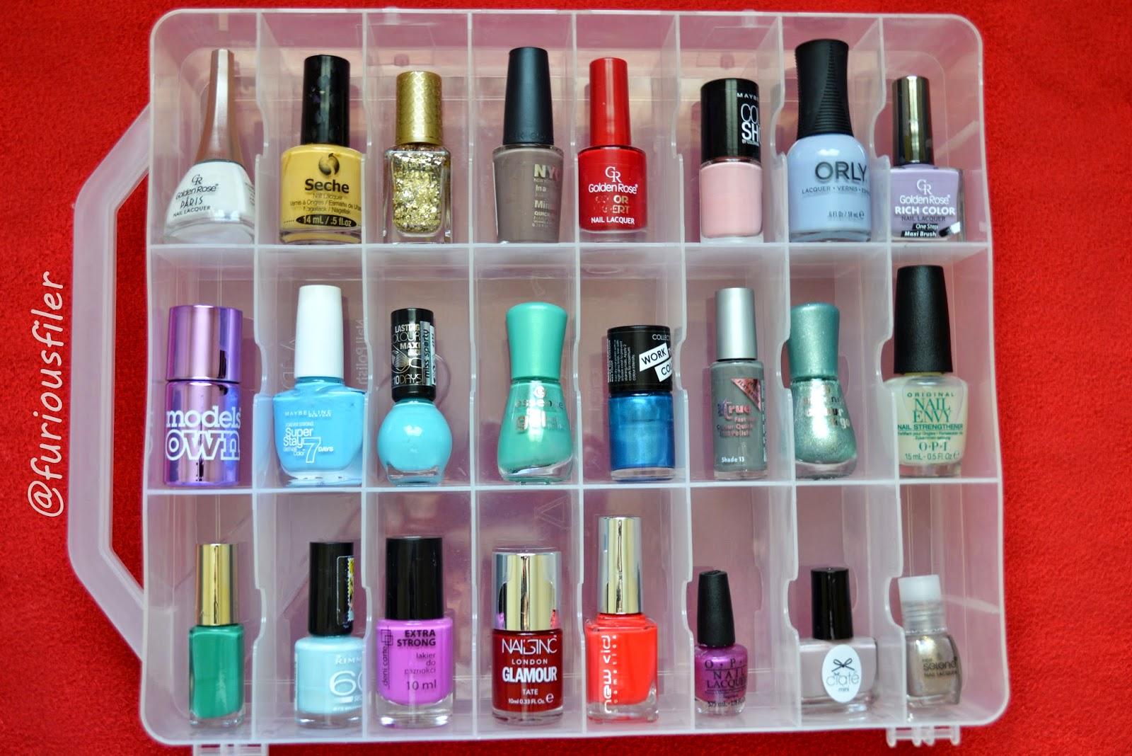 Nail Polish Box Storage - Listitdallas