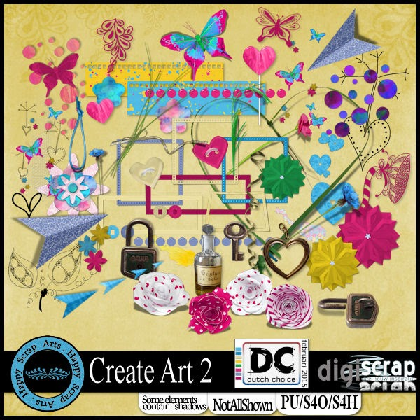 HSA - Create Art 2 kit elem.