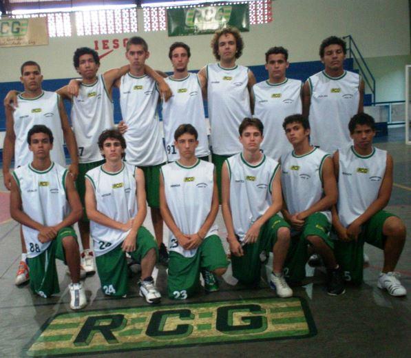 RCG/CSA/Garça, integrante do estadual infanto-juvenil da FPB em 2007