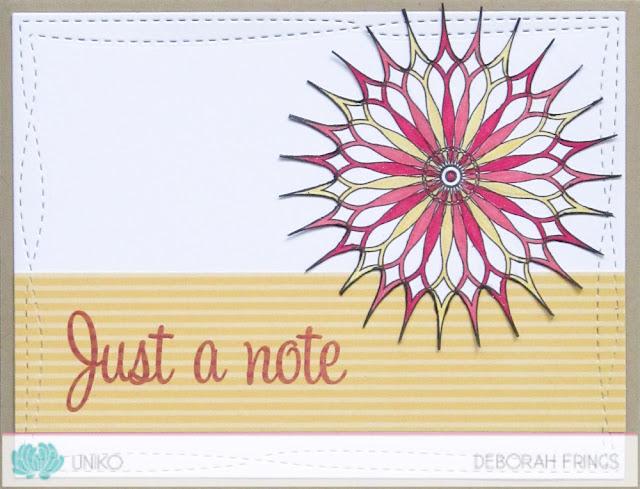 Just a Note - photo by Deborah Frings - Deborha's Gems