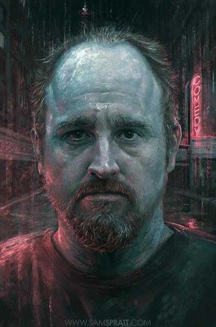 Cute Portrait Illustrations by Sam Spratt