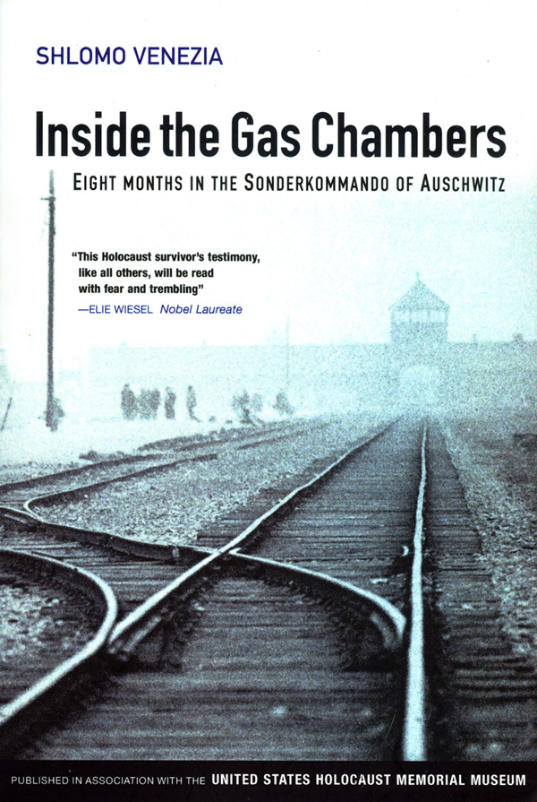 book cover Shlomo Venezia - Inside the Gas Chambers