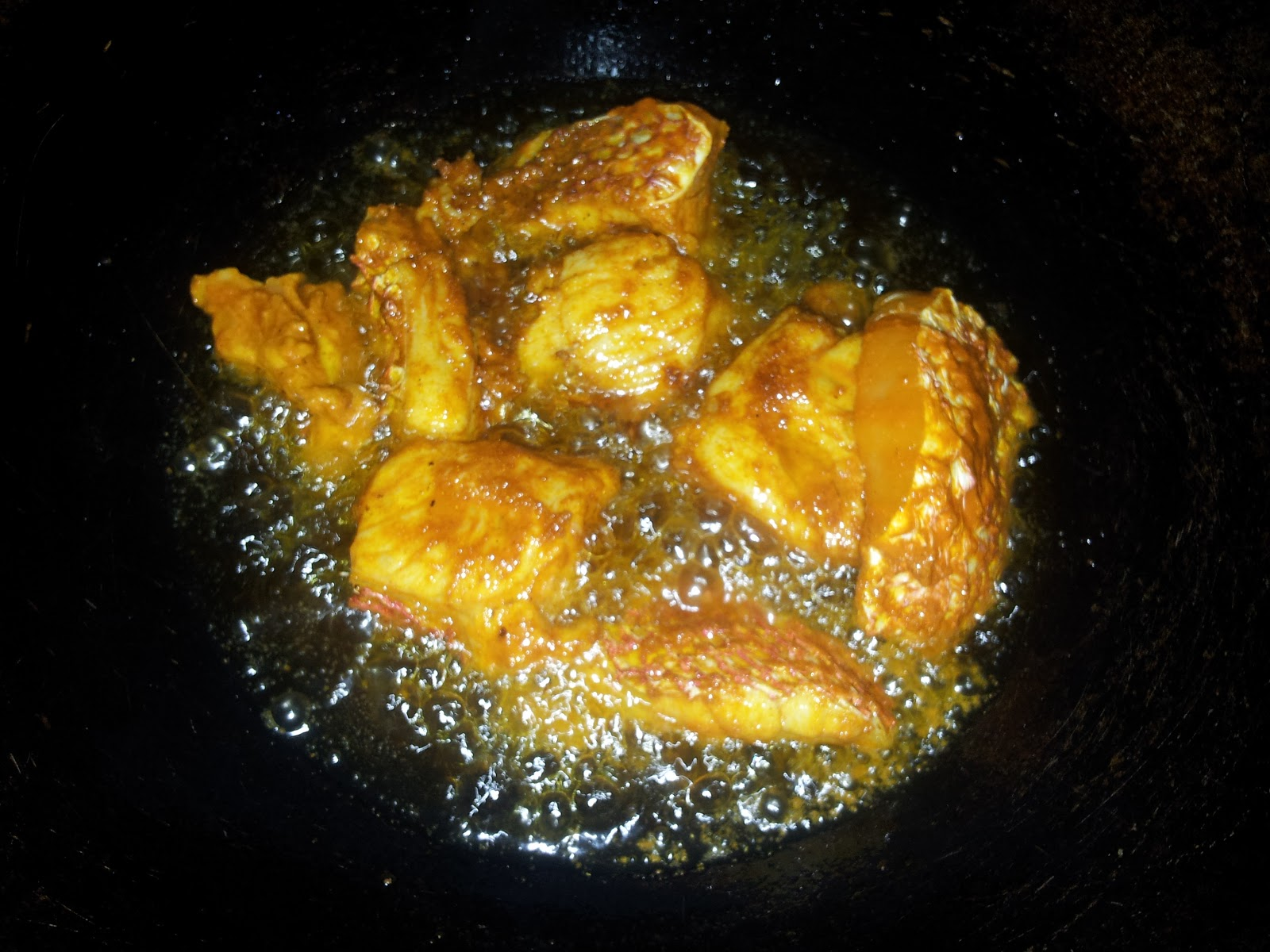 Sumanarthy 39 s kitchen simple fish fry for Best oil for frying fish