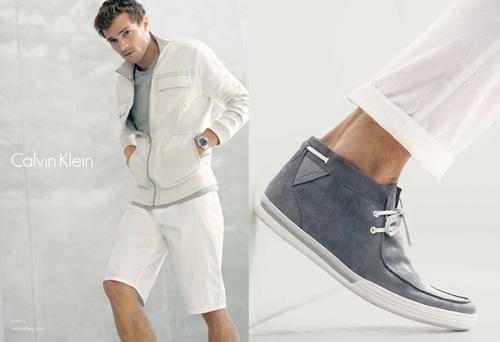 Calvin Klein White Label Spring / Summer Clothing Collection Men